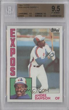 1984 Topps - [Base] #200 - Andre Dawson [BGS9.5]