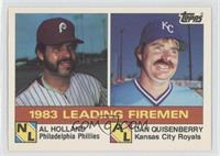 Al Holland, Dan Quisenberry