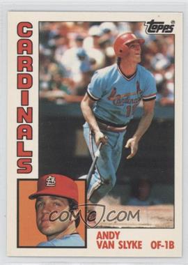 1984 Topps Box Set [Base] Collector's Edition (Tiffany) #206 - Andy Van Slyke