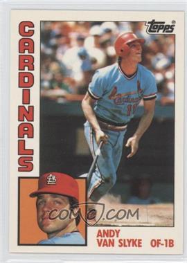 1984 Topps Box Set Collector's Edition (Tiffany) #206 - Andy Van Slyke