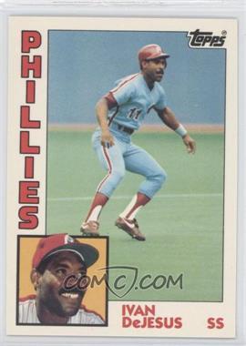 1984 Topps Box Set Collector's Edition (Tiffany) #279 - Ivan DeJesus