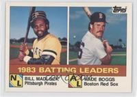 Bill Madlock, Wade Boggs