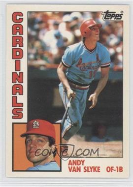 1984 Topps Factory Set [Base] Collector's Edition (Tiffany) #206 - Andy Van Slyke
