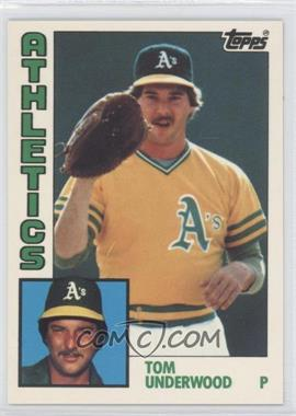 1984 Topps Factory Set [Base] Collector's Edition (Tiffany) #642 - Tom Underwood