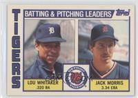 Lou Whitaker, Jack Morris