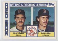 Wade Boggs, Bob Ojeda