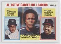 Rod Carew, Reggie Jackson