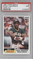 1983 Highlight - Rickey Henderson [PSA 9]