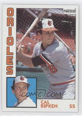 1984 Topps Nestle #490 - Cal Ripken Jr.