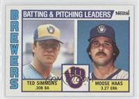 Ted Simmons, Moose Haas