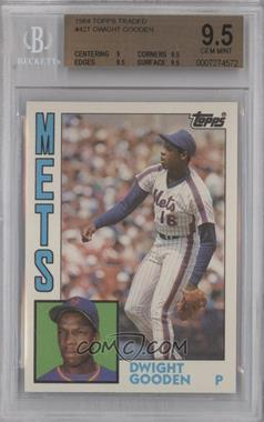 1984 Topps Traded #42T - Dwight Gooden [BGS9.5]