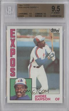 1984 Topps #200 - Andre Dawson [BGS 9.5]