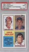 Superstars Bench, Perry and Yastrzemski Retire (Johnny Bench, Gaylord Perry, Ca…