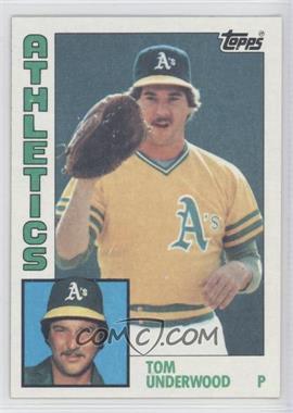 1984 Topps #642 - Tom Underwood