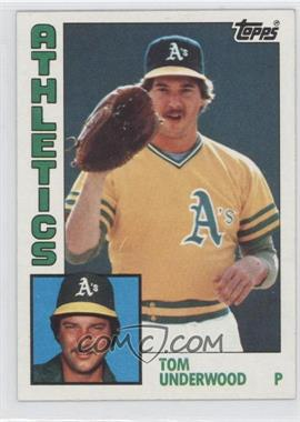 1984 Topps #642 - Tom Underwood