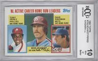 NL Active Career Home Run Leaders (Dave Kingman, Mike Schmidt, Tony Perez) [ENC…