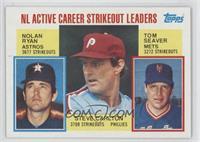 Nolan Ryan, Steve Carlton, Tom Seaver