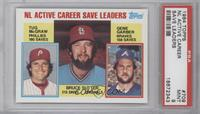 Career Leaders - NL Active Career Save Leaders (Bruce Sutter, Tug McGraw, Gene …