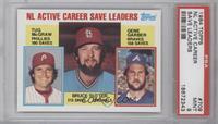 NL Active Career Save Leaders (Bruce Sutter, Tug McGraw, Gene Garber) [PSA&nbsp…