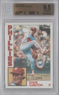 1984 Topps #780 - Steve Carlton [BGS9.5]