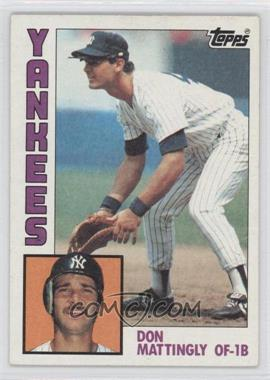 1984 Topps #8 - Don Mattingly
