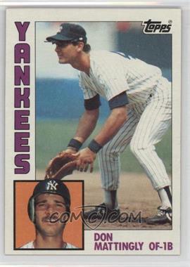 1984 Topps #8 - Don Mattingly