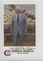 George Sisler Jr.
