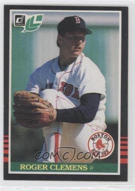 1985 Donruss Leaf - [Base] #99 - Roger Clemens