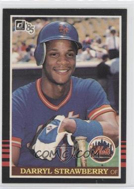 1985 Donruss #312 - Darryl Strawberry