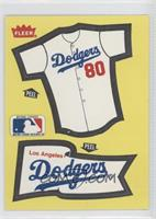 Los Angeles Dodgers Team (Jersey/Pennant)