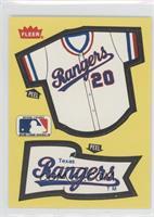 Texas Rangers Team (Jersey/Pennant)
