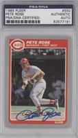 Pete Rose [PSA/DNA Certified Auto]