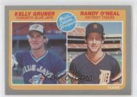 Kelly Gruber, Randy O'Neal