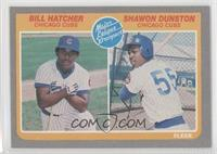 Billy Hatcher, Shawon Dunston