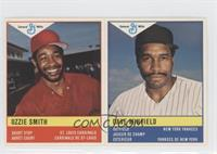Ozzie Smith, Dave Winfield