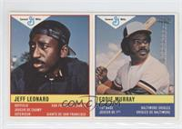 Jeffrey Leonard, Eddie Murray