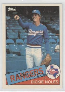 1985 Topps - [Base] - Box Set Collector's Edition (Tiffany) #149 - Dickie Noles