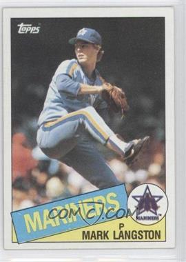 1985 Topps - [Base] #625 - Mark Langston