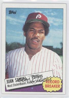 1985 Topps - [Base] #8 - Record Breaker - Juan Samuel