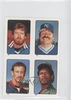 Rick Sutcliffe, Mike Witt, Dan Quisenberry, Rickey Henderson