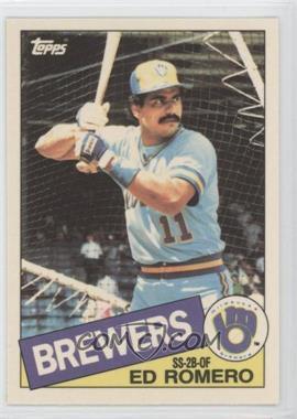 1985 Topps Box Set [Base] Collector's Edition (Tiffany) #498 - Ed Romero