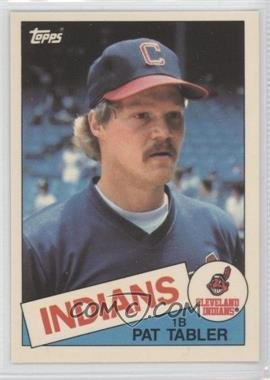 1985 Topps Box Set Collector's Edition (Tiffany) #158 - Pat Tabler
