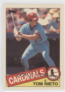 1985 Topps Box Set Collector's Edition (Tiffany) #294 - Tom Nieto