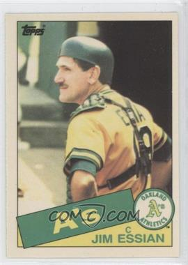 1985 Topps Box Set Collector's Edition (Tiffany) #472 - Jim Essian