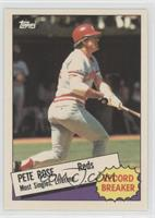 Record Breaker - Pete Rose