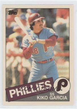 1985 Topps Box Set Collector's Edition (Tiffany) #763 - Kiko Garcia