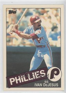 1985 Topps Box Set Collector's Edition (Tiffany) #791 - Ivan DeJesus