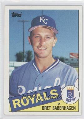 1985 Topps #23 - Bret Saberhagen