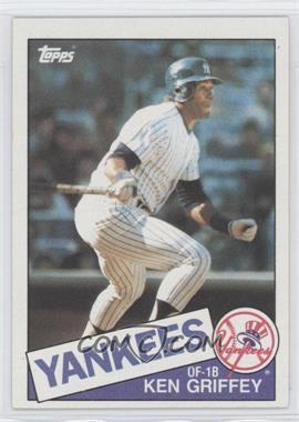 1985 Topps #380 - Ken Griffey