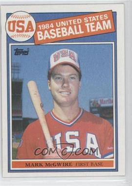 1985 Topps #401 - Mark McGwire